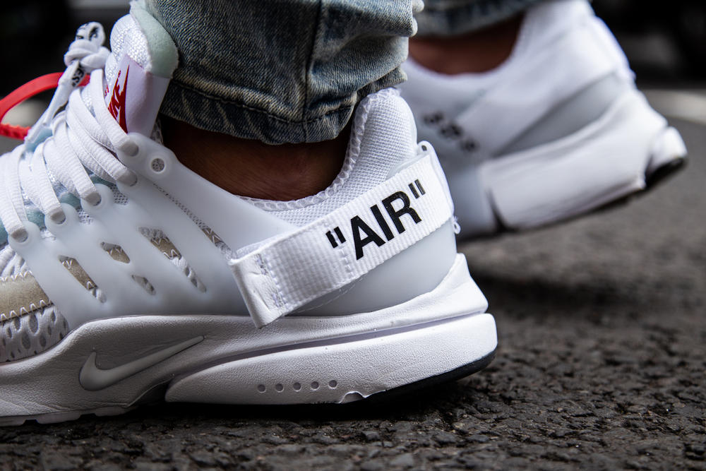 Virgil Abloh x Nike Air Presto White On-Foot June 21 2018 Release Date Info Drop Unreleased Kicks Trainers Shoes Sneakers Footwear Off-White Off White Coming Soon Purchase Buy Cop
