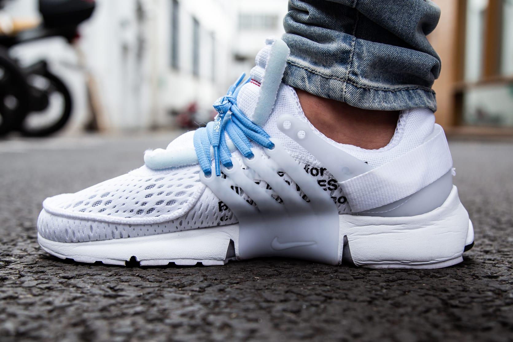 Virgil Abloh x Nike Air Presto White On