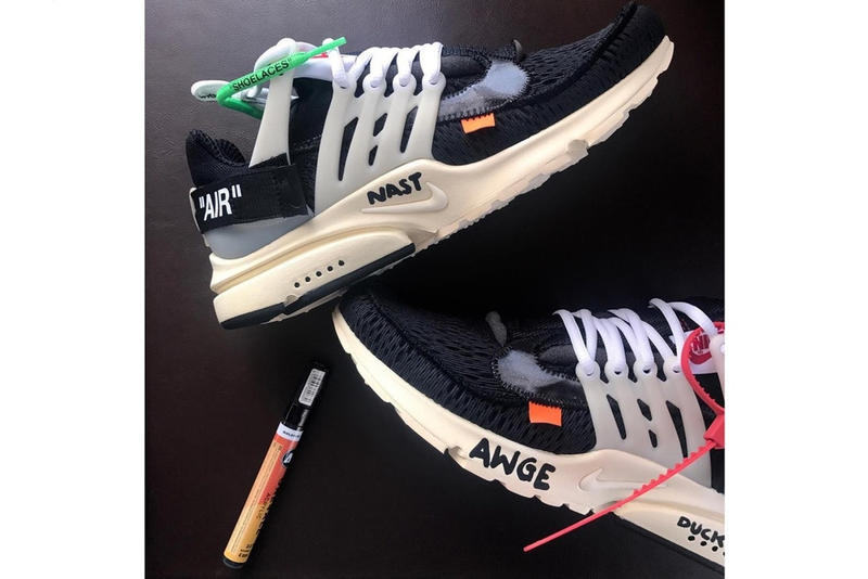 Virgil Abloh Off White Nike Air Presto