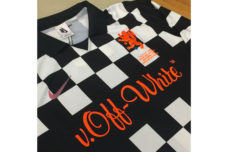 e4985614 Virgil Abloh and Nike Gifted High School Soccer Team Co-Branded Football  Kits. Abloh's alma mater.