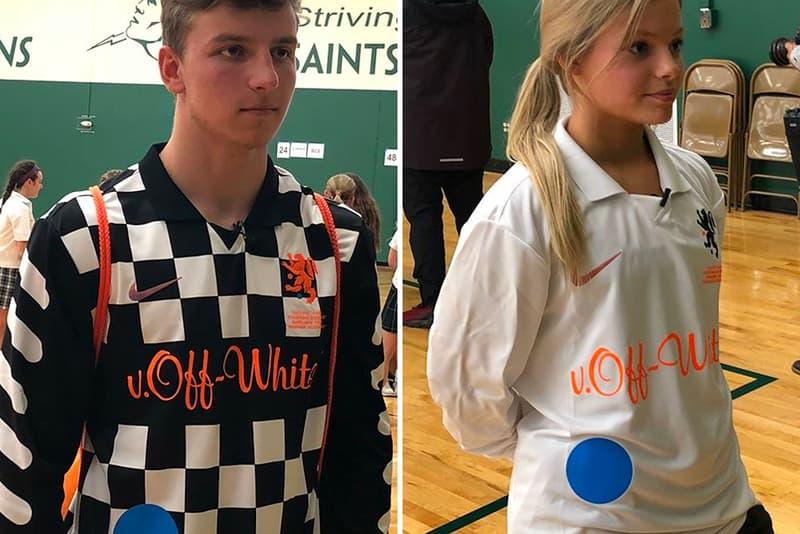 Virgil Abloh Nike Football Kits Boylan Central Catholic High School jerseys