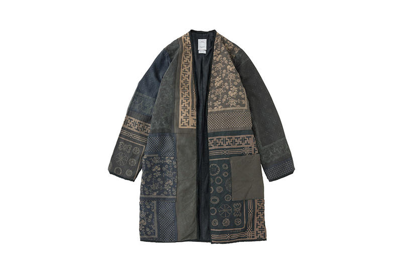visvim Textile Dissertation Spring/Summer 2018 Collection Silk Bandana Jumbo Shirt Longsleeve Down Vest Sanjuro Coat Iliad Dinner Dress Native Blanket Plain Belt Petite Tote Bag Musette Geta Free Edge Shirt Fishy Duke Foliage Spanner Hiroki Nakamura