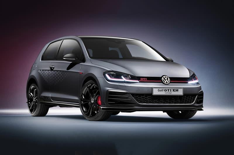 Volkswagen Golf GTI TCR Concept Cars Hot Hatch Hatchback