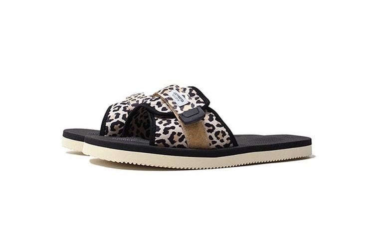 484c886cf62c WACKO MARIA Gives Suicoke Sandals a Leopard Print Makeover