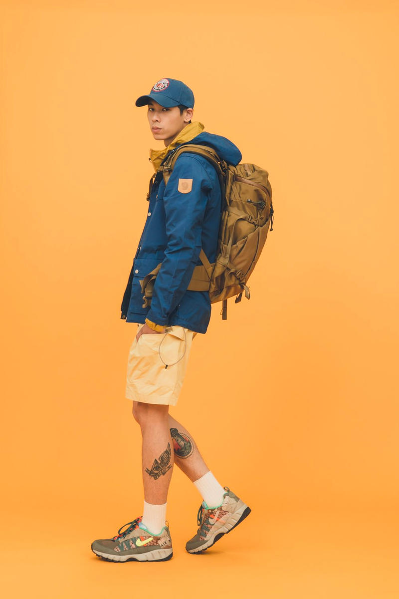 White Rock Spring Summer 2018 Editorial release info Snow Peak Spalwart Fjällräven jackets sweaters shirts pants