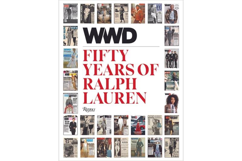 WWD Fifty Years of Ralph Lauren Book Rizzoli archival photograph 50 anniversary new york