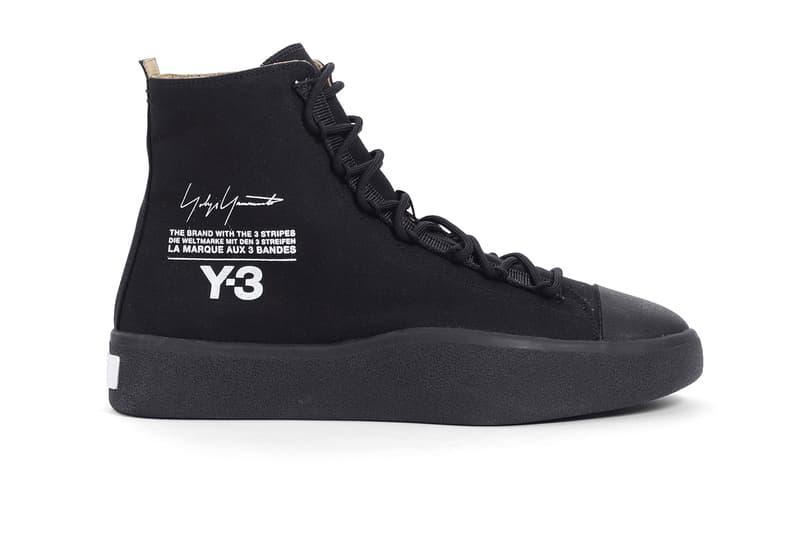 hot sale online 43f7b 693c9 Y-3 Bashyo Sneaker Black release info spring summer 2018 collection  footwear sneakers