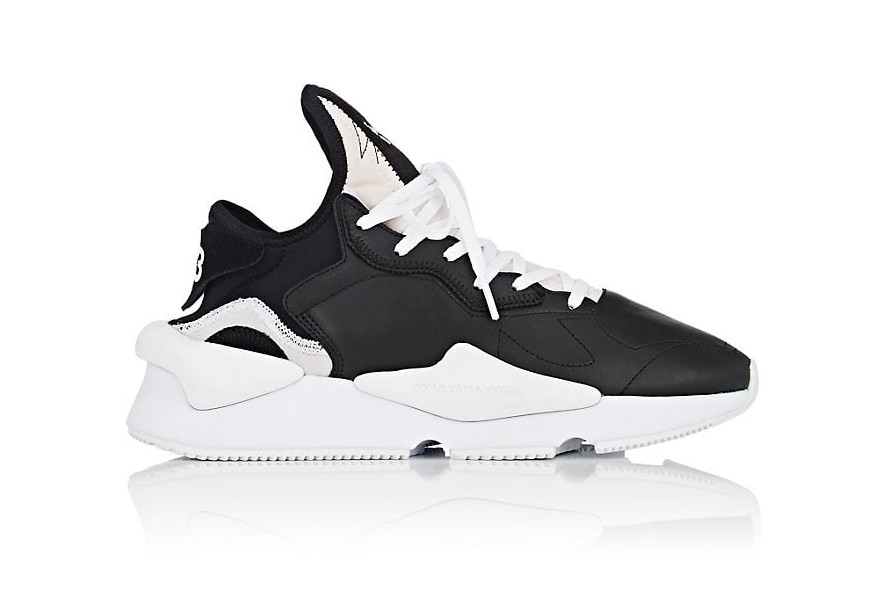 Y-3 Prepares to Drop the Kaiwa in Two Monochrome Colorways. More chunky  runners. Y3 Kaiwa Black White fall winter 2018 ... cb09f641e
