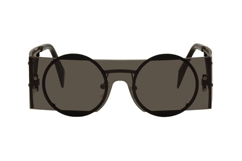 Yohji Yamamoto steampunk sunglasses eyewear release purchase accessories 2018