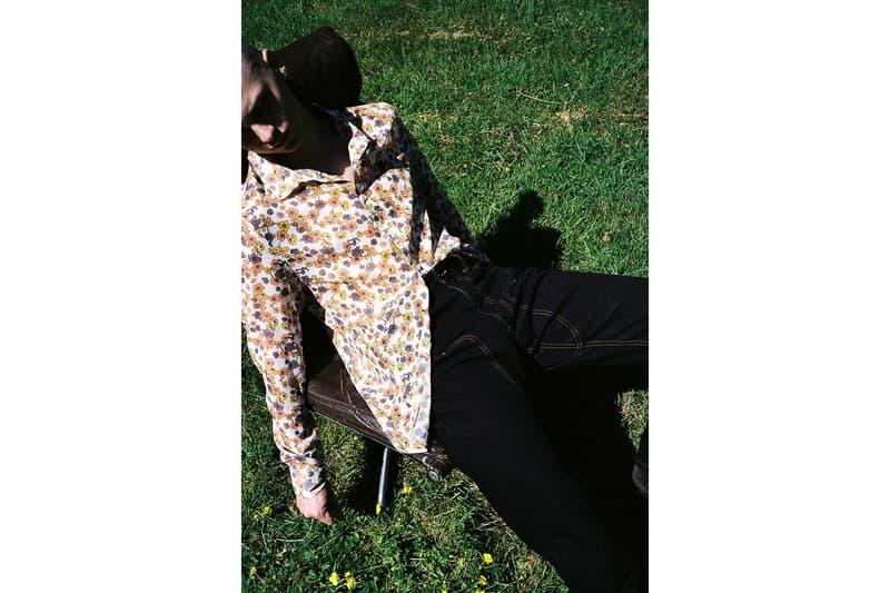/017 Garçons Infidèles Spring Summer 2018 Editorial Jacket Sweater T Shirt