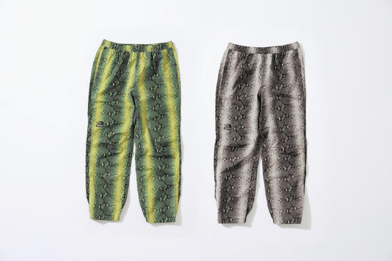 Supreme The North Face Snake Print Pants Spring Collection