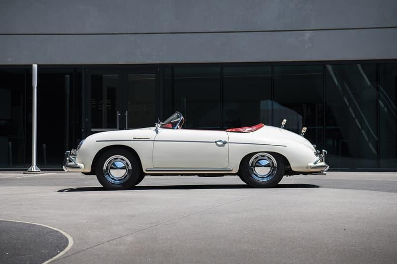 1956 Porsche 356 Super Speedster Auction Details Available Bid Purchase Now