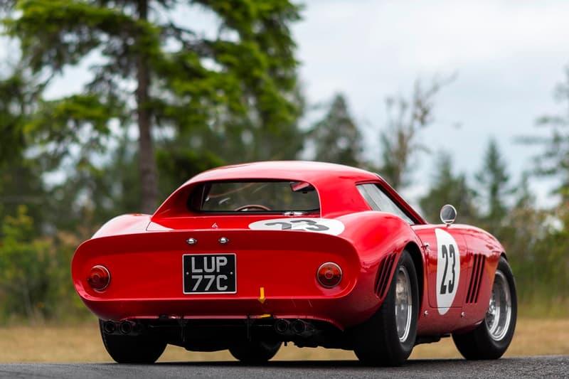 1962 Ferrari 250 GTO rm sotheby's auction cars vehicles racing