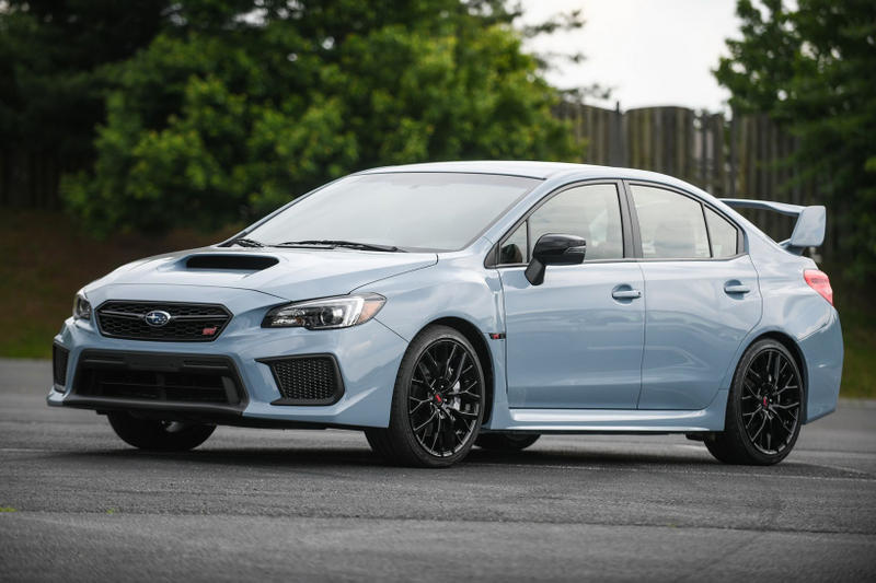 2019 Subaru WRX WRX STI Series Gray Limited Edition