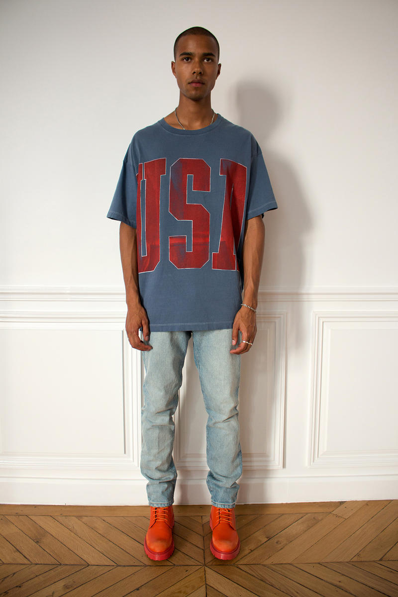 424 Reveal Spring/Summer 2019 'friEND of America' Collection Paris Fashion Week SS19