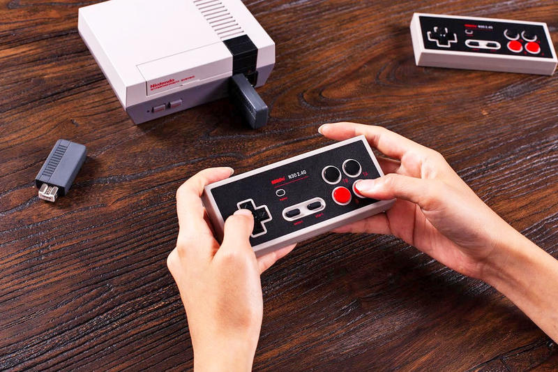 8Bitdo N30 2.4G Wireless Controller for NES Classic Edition video games gaming