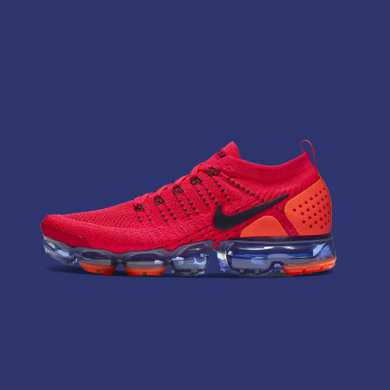 "Nike Air VaporMax Flyknit 2.0 ""Red Orbit"""