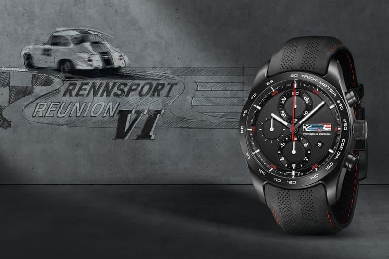 Porsche Chronotimer Rennsport Reunion VI watch 2018 70th anniversary buy