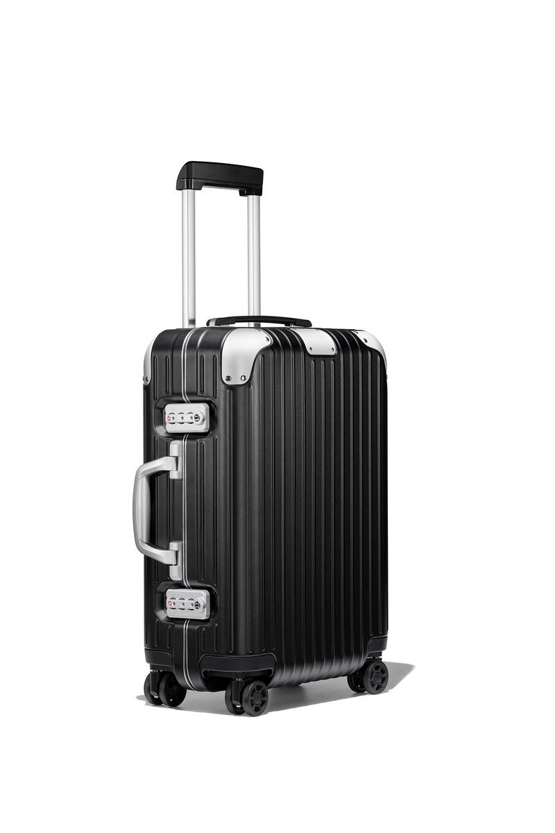 rimowa aluminum luggage redesign suitcases  Essential polycarbonate LITE original model drop release info logo june 5 2018