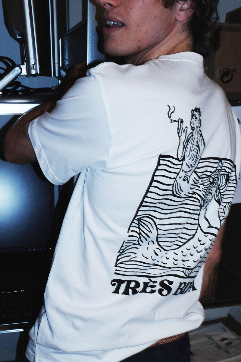 Très Bien fall winter 2018 souvenir tee shirt drop junior executive graphic shop