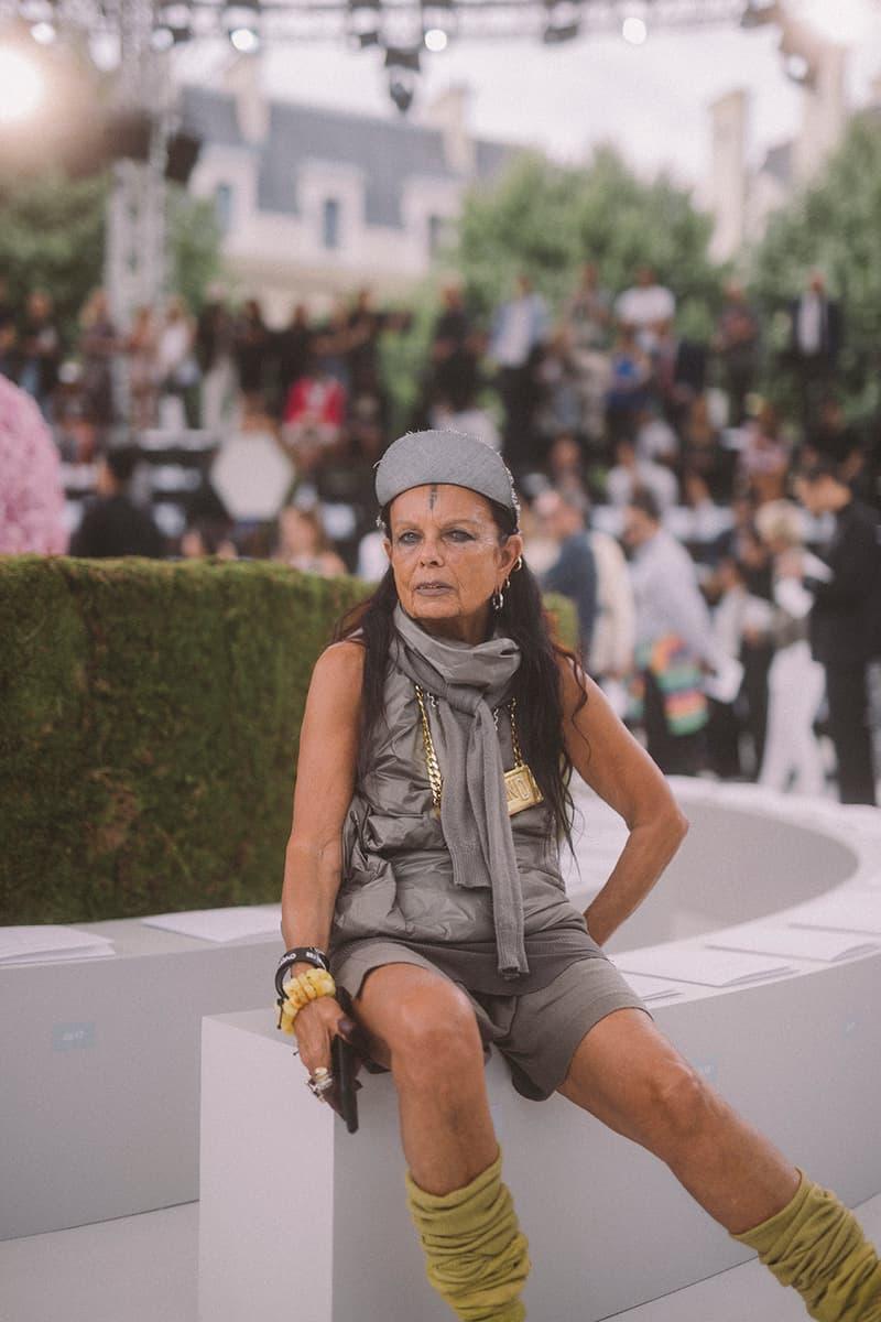 Kim Jones Dior Homme Paris SS19 Runway Show KAWS Kate Moss Skepta A$AP Rocky