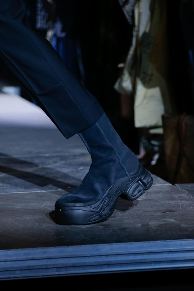 on sale 04586 3b136 adidas by Raf Simons SpringSummer 2019 Footwear sneakers leather platform  boot Ozweego Detroit Runner