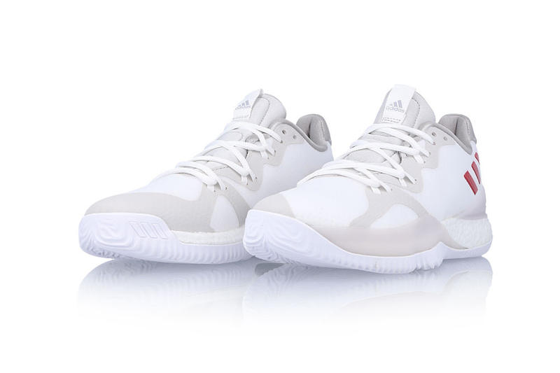 "adidas Crazy Light Boost ""White/Scarlet"" basketball"