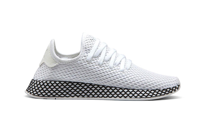 adidas Deerupt Summer 2018 release info sneakers footwear core black cloud white turbo Hi-Res Aqua