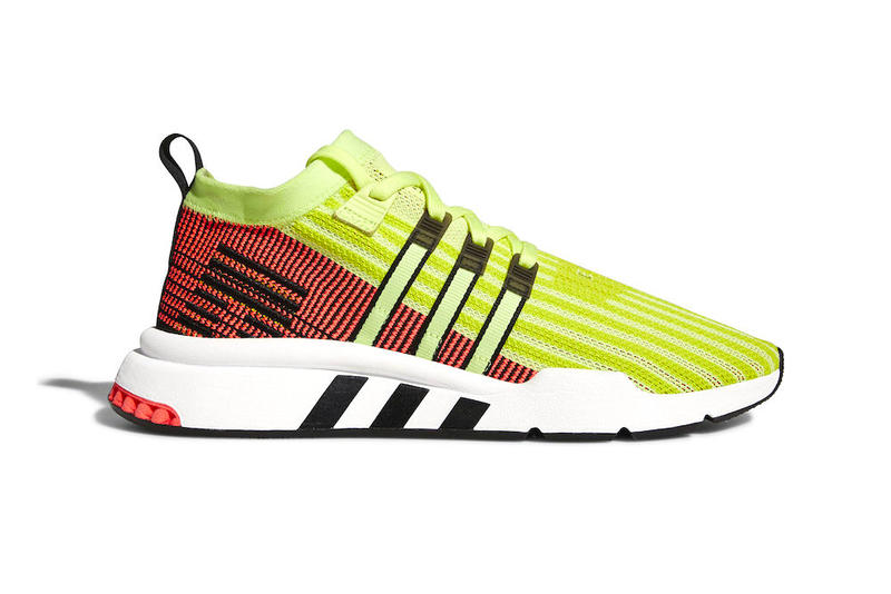 san francisco d9cd7 3dd40 adidas EQT Support Mid ADV Glow release date info sneakers footwear yellow  price