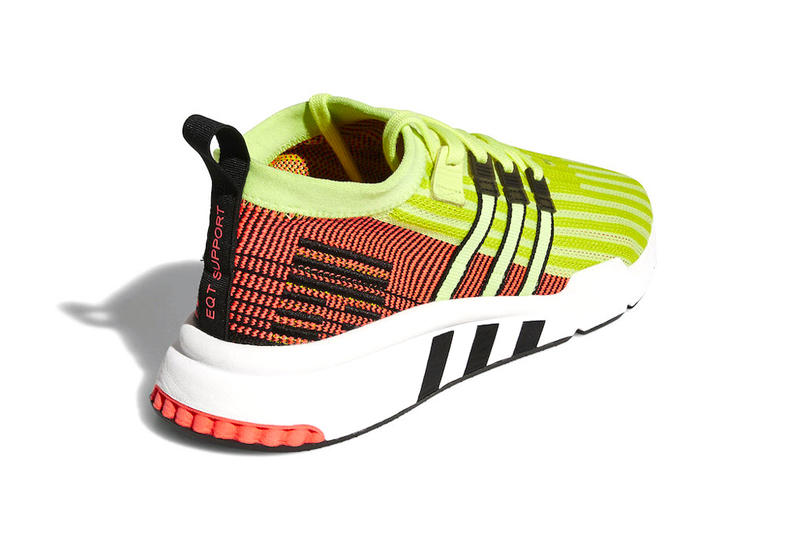 adidas EQT Support Mid ADV Glow release date info sneakers footwear yellow price