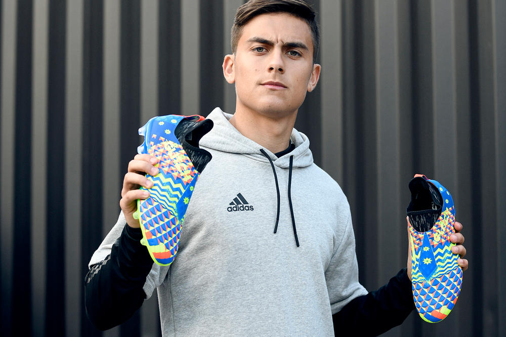 adidas Football Soccer GLITCH Pack Capsule Boots Cleats 2018 FIFA World Cup Paulo Dybala Benjamin Mendy France England Russia Germany Release Information Details