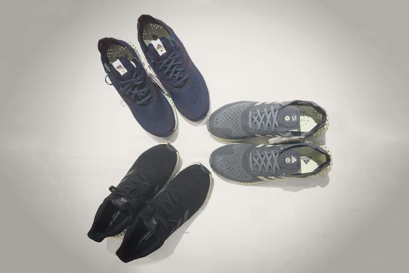 adidas Consortium FUTURECRAFT 4D 2018 grey sneakers shoes footwear