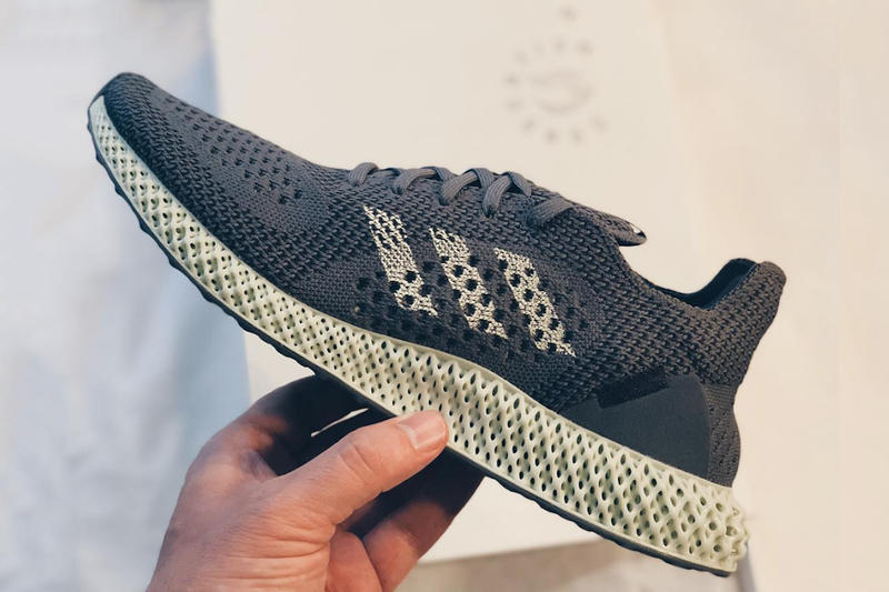 promo code 29e5f 6805b adidas Consortium FUTURECRAFT 4D 2018 grey sneakers shoes footwear