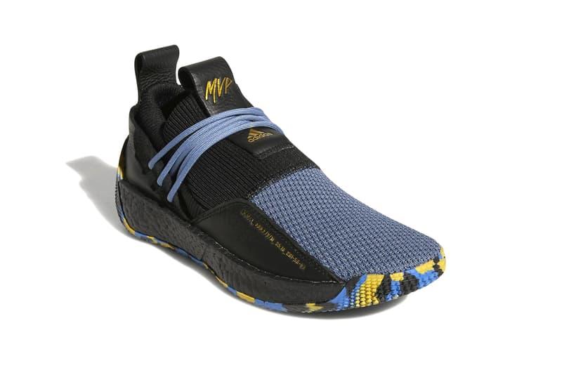 adidas james harden vol. 2 LS MVP 2018 sneaker release date