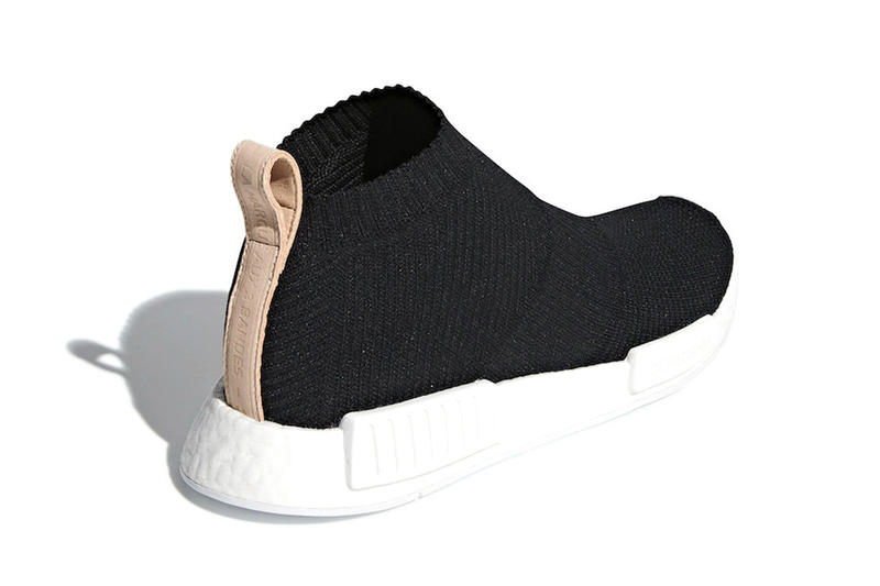 adidas NMD CS1 Lux Core Black tan release info sneakers footwear