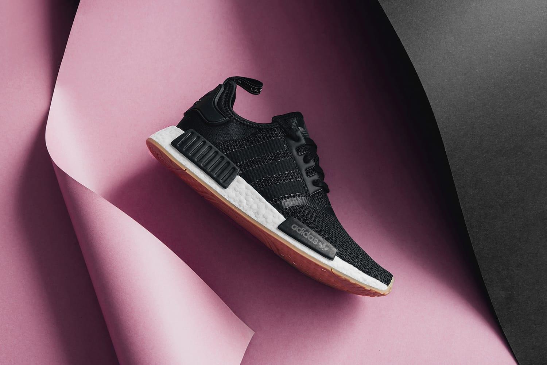 adidas Drops NMD R1 in Black/Gum
