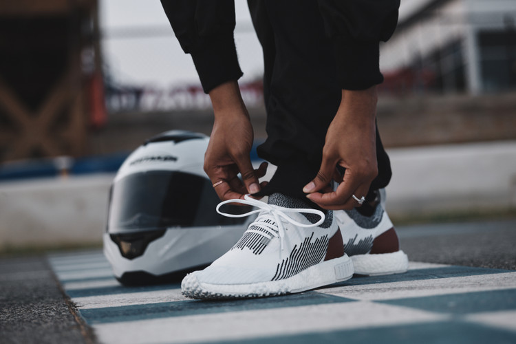 019726b36af8c adidas NMD Racer Primeknit. adidas Originals and The Whitaker Group Release  a Racing-Inspired NMD
