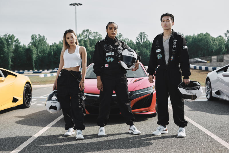 adidas Originals The Whitaker Group NMD Racer Sports Cars Racing car club primeknit Atlanta F1 Formula One Lamborghini Ferrari