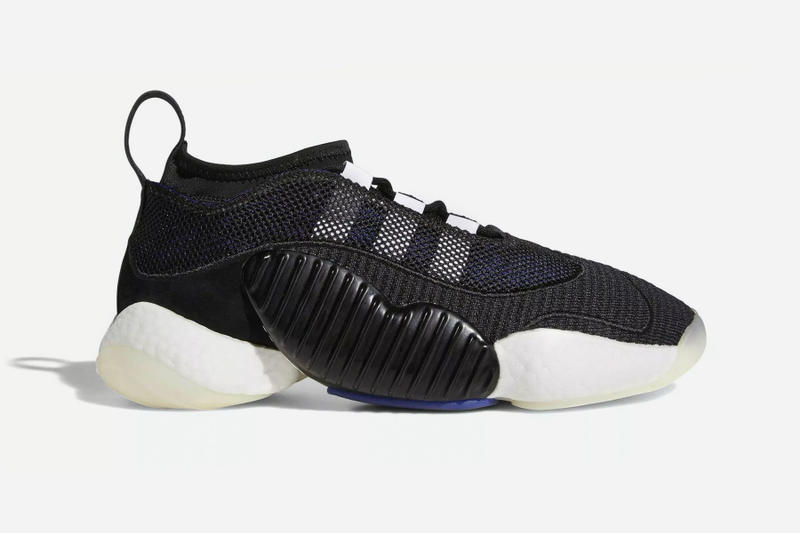 adidas Originals Crazy BYW LVL 2 first look black preview Sneakers Shoes Footwear BOOST release date