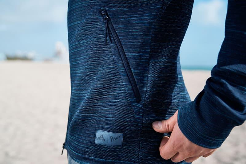 adidas Parley ZNE Hoodie Recycled Ocean Plastic Sustainability Yarn