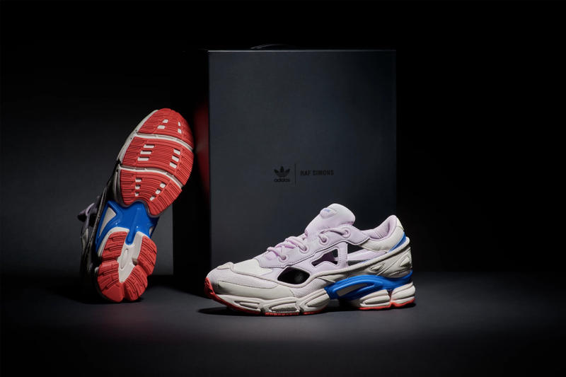adidas x Raf Simons Replicant Ozweego Release Details END. Raffle Kicks Shoes Trainers Sneakers