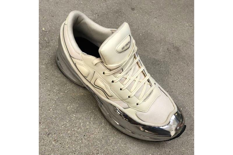 adidas by raf simons silver ozweego cream