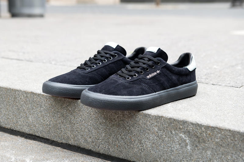 best sneakers 61867 91f01 adidas skateboarding 3MC 2018 july footwear navy triple black triple white  release info date
