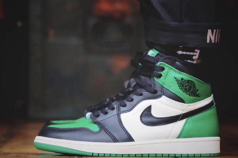 4ea2f96dbab Air Jordan 1 High Pine Green jordan brand sail black release info sneakers  footwear
