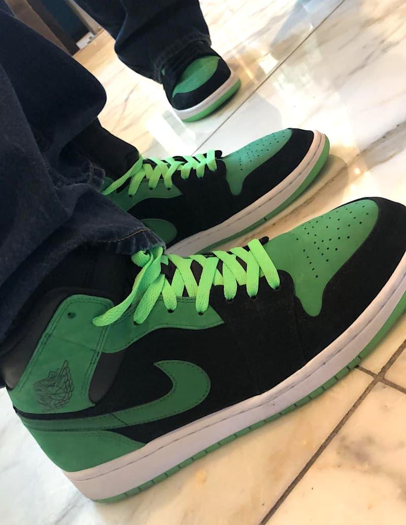 Microsoft Air Jordan 1 Xbox E3 Electronics Expo Release Details First Look  Closer Look Green Black a6d442026