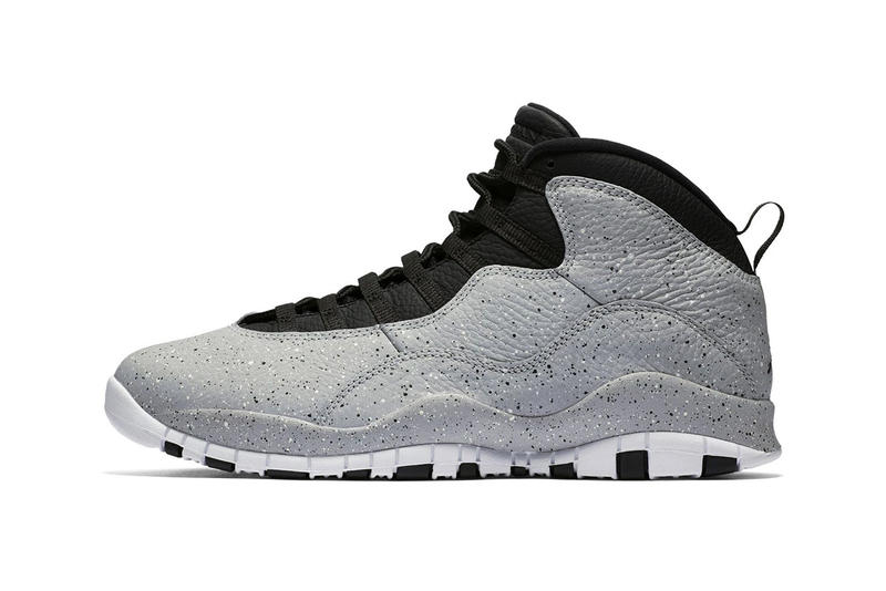 "premium selection dd0d3 b59ff Air Jordan 10 Retro ""Light Smoke"" Release date jordan brand info drop  sneaker footwear"