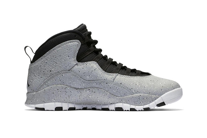 "premium selection 10002 a2bca Air Jordan 10 Retro ""Light Smoke"" Release date jordan brand info drop  sneaker footwear"