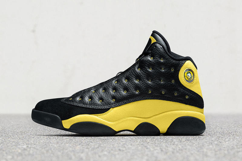 air jordan 13 university of oregon friends and family pe 2018 footwear black yellow