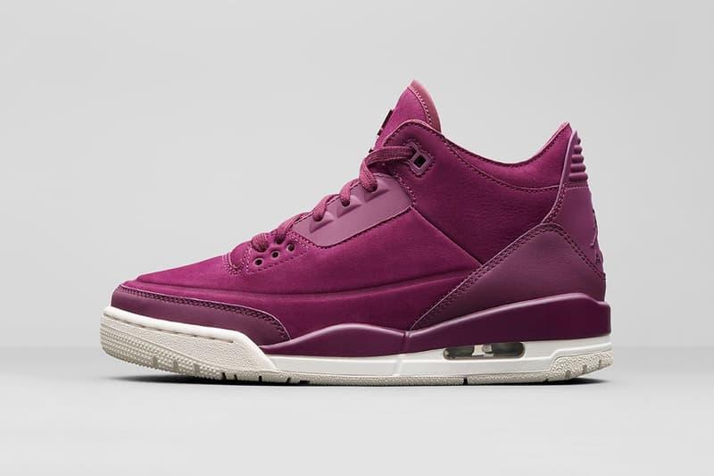 6be0f5b3136c39 Air Jordan 3 Bordeaux womens september 21 2018 release date info drop  sneakers shoes footwear