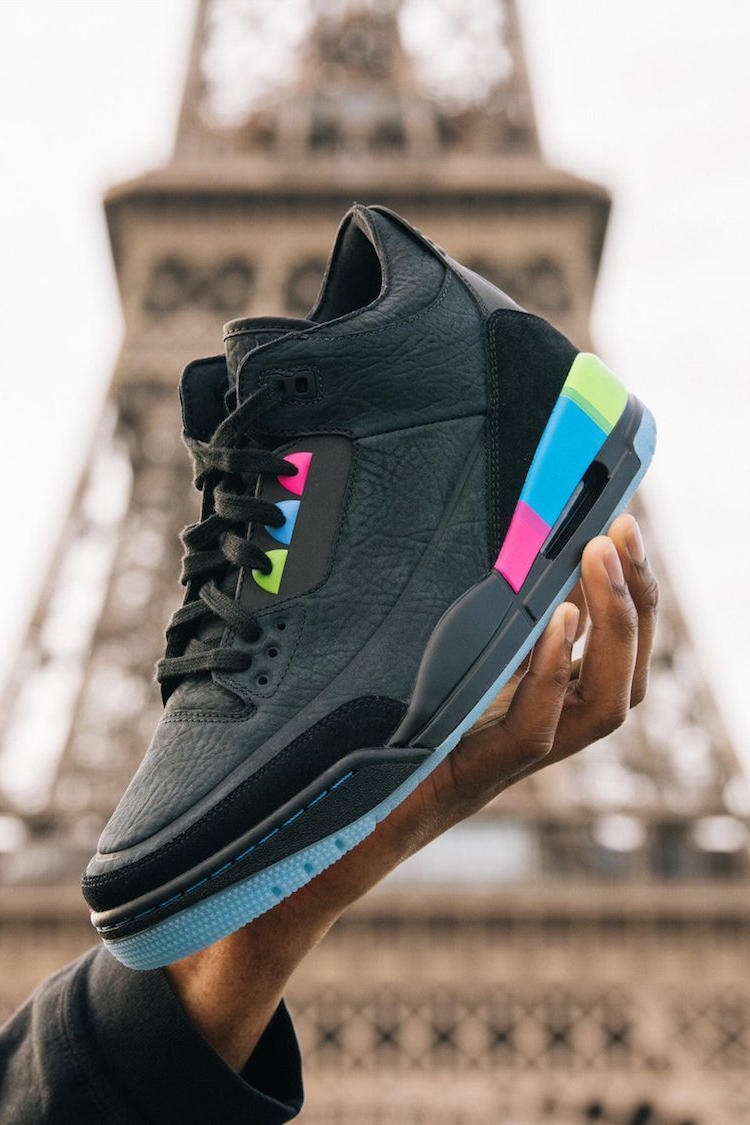hot sales 6ab40 d6d80 Air Jordan 3 Quai 54 2018 july footwear jordan brand michael jordan release